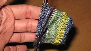 Beginning sock 2
